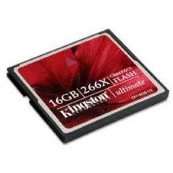MEMORIA COMPACT FLASH 16GB KINGSTON ULTIMATE - Imagen 1