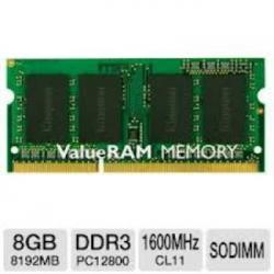 MEMORIA KINGSTON SODIMM DDR3 8GB 1600MHZ CL11 - Imagen 1