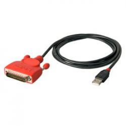 CABLE CONVER. LINDY USB 2.0 A SERIE RS232-DB 25 - Imagen 1