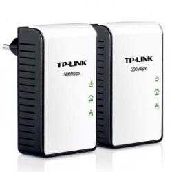 ADAPTADOR RED TP-LINK KIT 2X PLC 500MBPS MINI - Imagen 1