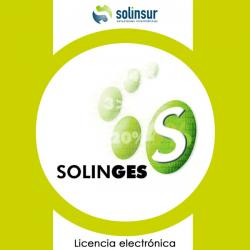 SOFTWARE SOLINGES LICENCIA ELECTRO GESTION FACTUR - Imagen 1