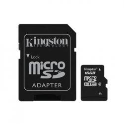MEMORIA MICRO SD 16GB KINGSTON 1ADAP - Imagen 1