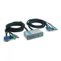 DATA SWITCH KVM 2X1 D-LINK MON+TEC+RAT PS-2 +1 USB - Imagen 1